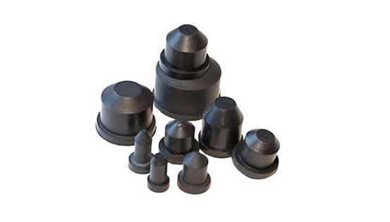 molded solid rubber products